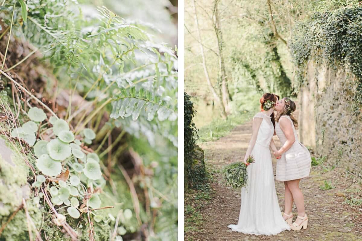 Mariage intimiste vegetal shooting inspiration jerome tarakci